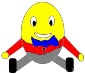 Humpty Dumpty - Humpty Dumpty, nursery rhyme, Mother Goose