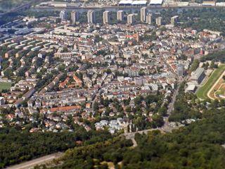 Frankfurt am Main - Luftaufnahme #1 - Frankfurt, Luftaufnahme, Stadt, Deutschland, Großstadt, Main, Blick, Finanzzentrum