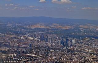Frankfurt am Main - Luftaufnahme #2 - Frankfurt, Main, Stadt, Hessen, Luftaufnahme, Deutschland, Großstadt, Finanzzentrum