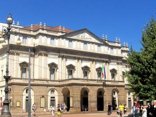 Opernhaus Mailänder Scala - Oper, Opernhaus, Mailänder Scala, Theater, Teatro, berühmt, Italien, Gesang, Bauwerk