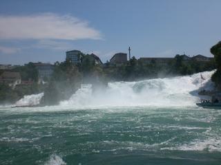 Rheinfall #1 - Rhein, Rheinfall, Wasserfall, Wasser, Stromschnellen, Naturdenkmal