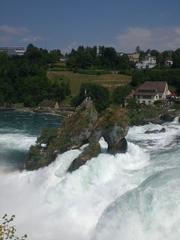 Rheinfall #2 - Rhein, Rheinfall, Wasserfall, Wasser, Stromschnellen, Naturdenkmal