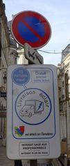 Hinweisschild - panneau, stationnement, horodateur, parking