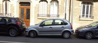 Parken in Frankreich - parken, stationner, stationnement