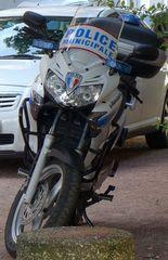 Motorrad - Frankreich, civilisation, police, Polizeimotorrad, motard, Polizei, police municipale