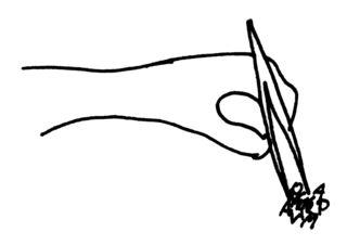 Pinzette - Pinzette, Buchstabeneinführung, Ziffernschreibkurs