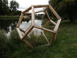 Archimedischer Körper - Geometrie, Körper, geometrischer Körper, Archimedes, Vielecke, Mittelpunkt, Objekt, Objektkunst, Dodekaeder