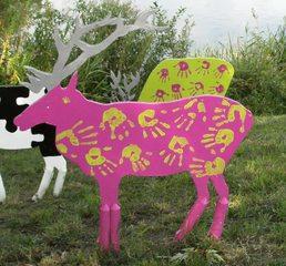 Waldtiere  aus Recyclingmaterial #7 - Objektkunst, Tier, Waldtier, Recyclingmaterial