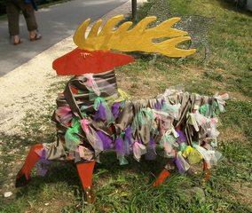 Waldtiere  aus Recyclingmaterial #5 - Objektkunst, Tier, Waldtier, Recyclingmaterial