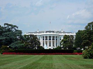 White House in Washington D.C - Washington, White House, Weißes Haus, USA, Amerika, Politik, Macht, Regierung, Regierungssitz, Residenz