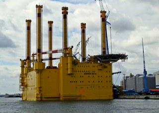 Bohrplattform - Bohrinsel, Bohrplattform, Plattform, Wasser, Ölförderung, bohren, Umwelt, Industrieanlage, Erdöl, Rohöl, Rohstoff