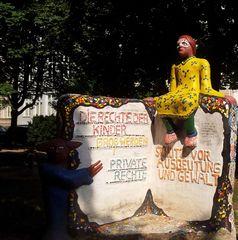Kinderrechte - Skulptur, Kinder, Rechte, Kinderrechte