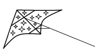 Lenkdrachen - Vorlage - Drachen, Herbst, Windvogel, Flugdrachen, Lenkdrachen, Fluggerät, Sportgerät, Drachensteigen, Vorlage