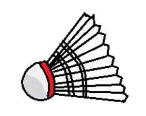 Badmintonball, Federball - Badminton, Federball, Badmintonball, Ball, Sport, spielen, Spielzeug