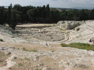 Syrakus - Teatro Greco # 2 - Sizilien, Syrakus, Siracusa, Theater, Antike, Archäologie