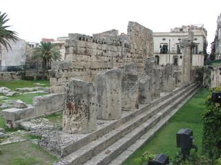 Syrakus - Apollotempel # 3 - Sizilien, Syrakus, Siracusa, Tempel, griechisch, Archäologie