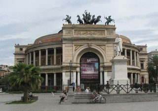Palermo - Teatro Politeama - Sizilien, Palermo, Theater, Musik, Neoklassizismus
