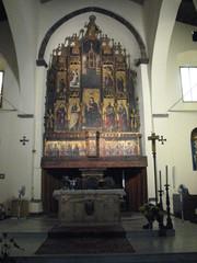 Castelbuono - Kirche San Francesco # 1 - Sizilien, Altar, Brauchtum, gotisch, Gotik