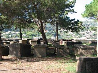 Griechische Sarkophage, Lipari - Sarkophag, Tod, Beerdigung, beerdigen, Antike