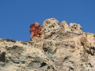 Vulkanisches Gestein auf der äolischen Insel Vulcano - Vulkan, vulkanisches Gestein, Schwefel