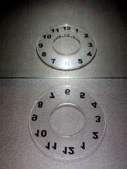 Spiegelung #3 - Spiegel, Spiegelung, Reflexion, Symmetrie, symmetrisch, Zahlen, Uhr, Ziffernblatt, transparent, Physik, Optik, achssymmetrisch, punktsymmetrisch, Mathematik