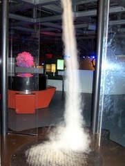 Nebeltornado #1 - Tornado, Nebel, Phänomen, Natur, Wind, Kraft, Wirbel, Wetter, Physik, Säule