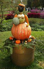 Kürbisdekoration #6 - Kürbis, Herbst, Dekoration, bunt