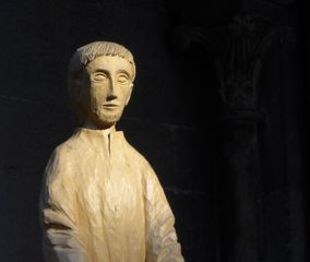 Heiliger Joseph  #1 - Joseph, Holzstatue, heilig, Meditation
