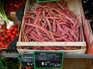 Borlotti-Bohnen - Bohnen, Hülsenfrüchte, rot, Körnerbohnen