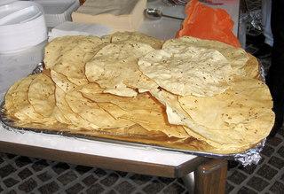 Papadams - Papadam, Papadams, Beilage, Brot, Fladenbrot, Teig, Linsen, indisch, Indien, Zwischenmahlzeit, knusprig, essen