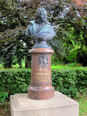 Gerhard v. Scharnhorst  (1755 - 1813) - Scharnhorst, Bordenau, Niedersachsen, General, Preußen, Heer, Heeresreform, Militär, Offizier, Denkmal, Büste