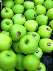 Äpfel Golden Delicious - Apfel, Äpfel, Golden Delicious, Köstlicher, Tafelobst, Obst, Frucht, Kulturapfel