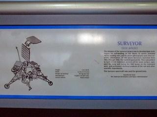 Surveyor - Text - Raumsonde, Sonde, Raumfahrt, Text, englisch, Mondsonde, NASA
