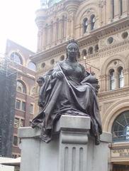 Queen Victoria-Denkmal in Australien - Queen Victoria, Denkmal, Australien, Australische Geschichte, Britisches Reich, British Empire, Kolonien, Colonialism