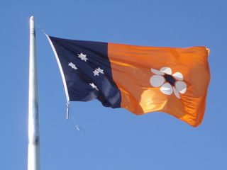 Flagge des Northern Territory (Australien) - Flagge, Northern Territory, Australien, Aborigines, Aboriginal People