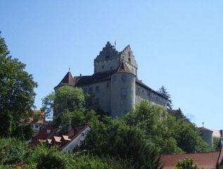 Burg Meersburg - Meersburg, Burg, Bodensee, Annette von Drose-Hülshoff, Droste-Hülshoff, Hauptattraktion, Wahrzeichen