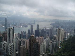 Hong Kong - Victoria Peak - Hong Kong, China, Skyline, Ausblick