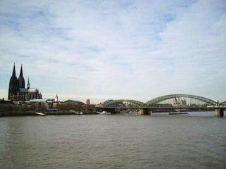 Köln - Dom & Hohenzollernbrücke - Köln, NRW, Deutschland, Kölner Dom, Dom, Brücke