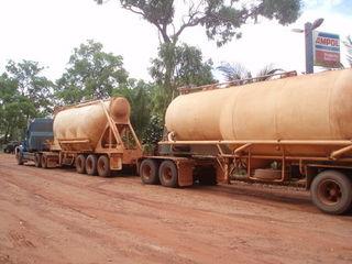 Roadtrain Australien - Australien, Icon, Roadtrain, Outback