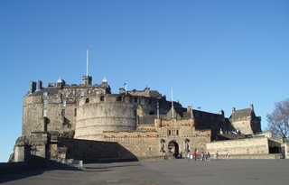 Edinburgh Castle - Edinburgh, Scotland, Holiday, Castle, Schloss, Burg, Schottland