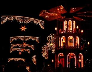 Lichterglanz zu Weihnachten - Advent, Weihnachten, Lichter, Kerzen, leuchten, weihnachtlich, warm, Weihnachtsmarkt