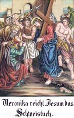 Kreuzweg VI - Religion, Kreuzweg, Bilderzyklus, Andacht, Jesus, Kreuz, katholisch, Station, Kreuzwegstation, Leidensweg, Passion