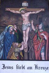 Kreuzweg  XII - Religion, Kreuzweg, Bilderzyklus, Andacht, Jesus, Kreuz, katholisch, Station, Kreuzwegstation, Leidensweg, Passion