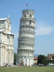 Der Schiefe Turm in Pisa - Pisa, Turm, Schiefer Turm, Glockenturm, Italien, Toskana, Architektur, Galilei, Marmor, schief