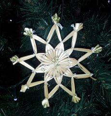 Strohsterne #3 - Strohstern, Stroh, basteln, Weihnachtsbastelei, Dekoration, Weihnachtsdekoration, Weihnachtsschmuck, Weihnachtsbaum, Fensterschmuck, Symmetrie, symmetrisch