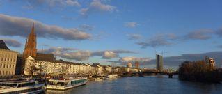 Skyline Frankfurt/Main - Frankfurt, Main, Dom, EZB, Skyline