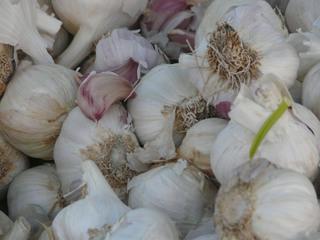 Knoblauch - Knoblauch, Zehe, Zehen, Markt, Gemüse