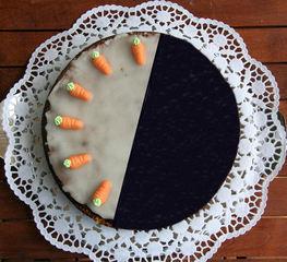 Torte teilen #17 - Kuchen, Torte, Tortenstück, teilen, Teil, Teile, Hälfte, Bruchrechnen, rechnen, Bruchteil, Brüche, Bruch, halbieren, ergänzen, Winkel