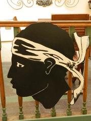 Tête de Maure - Frankreich, Korsika, tête, Maure, corse, Maurenkopf, Mohrenkopf, Symbol