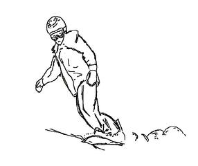 Snowboard fahren sw - Wintersport, Wintersportart, Winter, Schnee, fahren, Snowboard, Schneebrett, olympisch, Sport, Winter, Eis, kalt